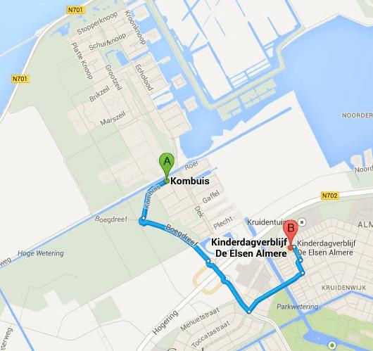Kinderopvang voor Noorderplassen-West in Almere